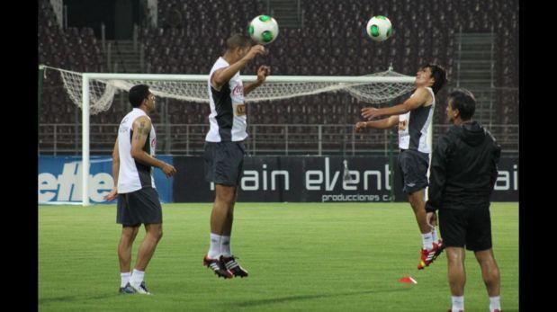 FOTOS: la selección peruana reconoció la cancha y entrenó antes del partido ante Venezuela
