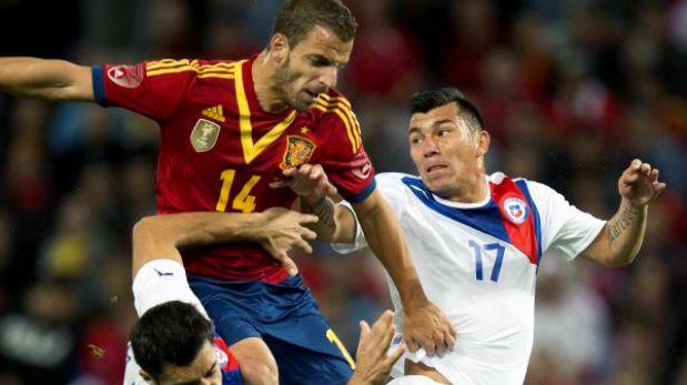 España logró en los descuentos un 2-2 milagroso ante Chile en Ginebra