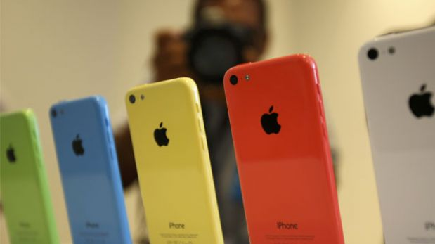 Apple puso color con el iPhone 5C, su smartphone económico