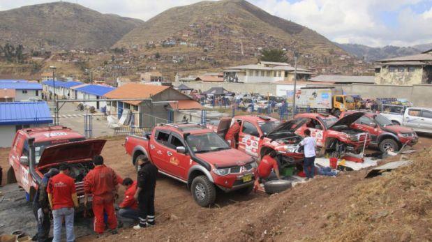 FOTOS: una mirada a las máquinas de Caminos del Inca que mañana rugirán en la tercera etapa