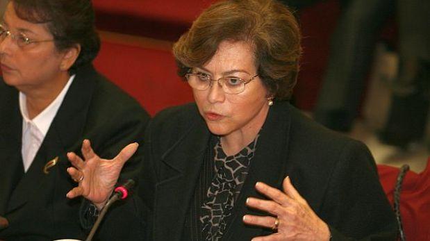 Ex fiscal Gladys Echaíz sería citada a la megacomisión por el Caso BTR