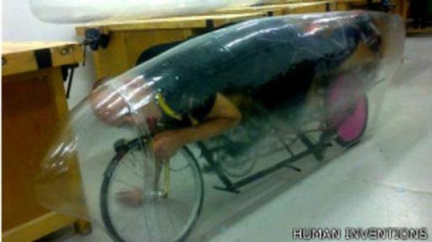 "Una bicicleta ""extrema"" para batir el récord mundial a 160km/h"