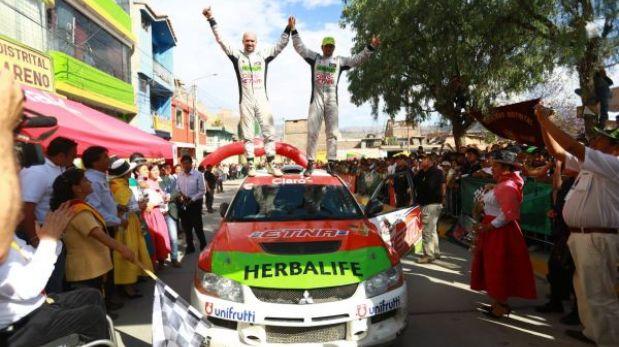 José Luis Tommasini ganó la tercera etapa de Caminos del Inca