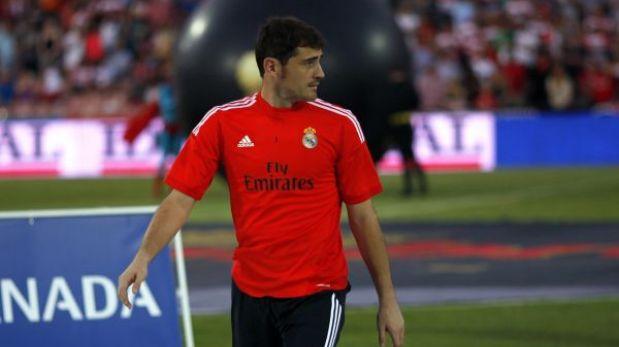 Casillas será el arquero titular del Real Madrid en la Champions