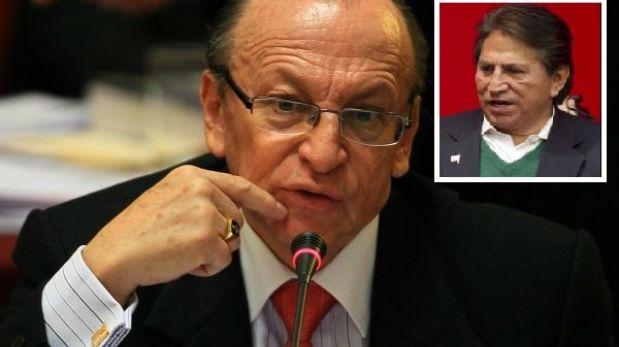 Hábeas corpus de Toledo carece de fundamentos, afirmó fiscal de la Nación