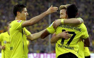 Borussia Dortmund aplastó 6-2 al Hamburgo con doblete de Lewandowski
