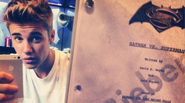 """Justin Bieber genera polémica al ser voceado para """"Batman vs. Superman"""""""
