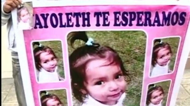 La pequeña Vayoleth apareció en Chimbote y se reencontró con su madre