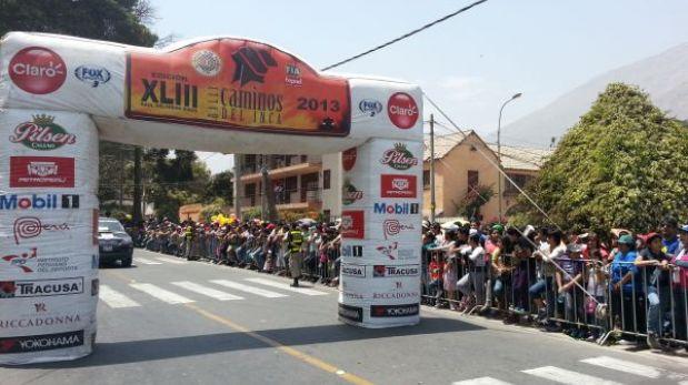 Así será el recibimiento a los ganadores de los Caminos del Inca