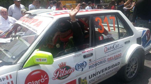 Caminos del Inca: la llegada de Alejandra Baigorria, Mario Hart y el ganador Richard Palomino a Lima [FOTOS]
