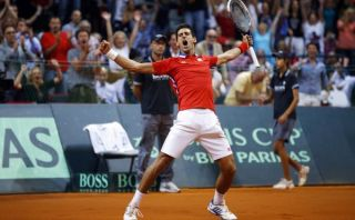 Novak Djokovic llevó a Serbia a la final de la Copa Davis