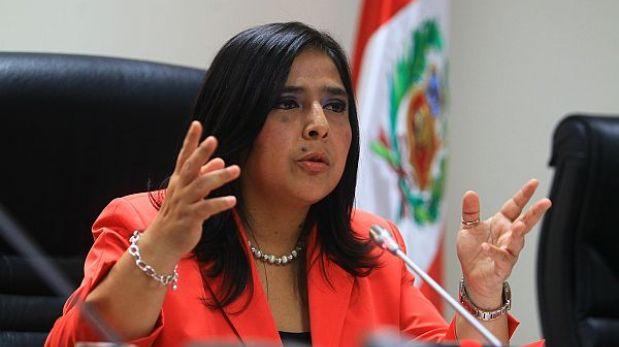 Ana Jara no será el reemplazo de Wilfredo Pedraza en el Mininter