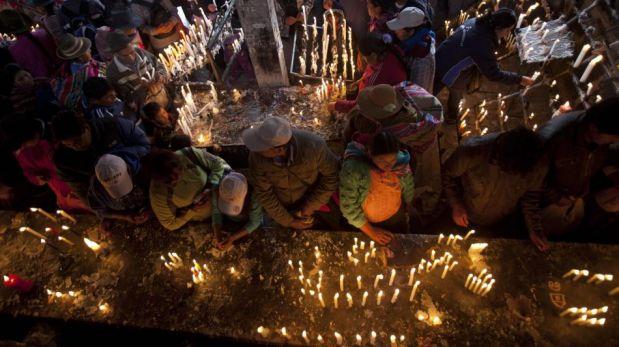 FOTOS: el peregrinaje de los fieles cusqueños al santuario del Señor de Huanca