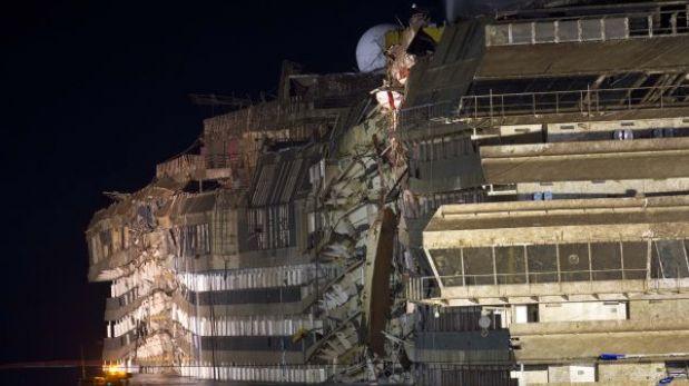 Italia: crucero Costa Concordia fue reflotado con éxito tras 19 horas