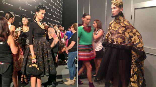 Diseñadoras peruanas exhibieron polleras en la Semana de la Moda de Madrid