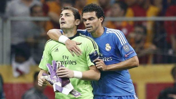 Iker Casillas jugó apenas 14 minutos por culpa de Sergio Ramos