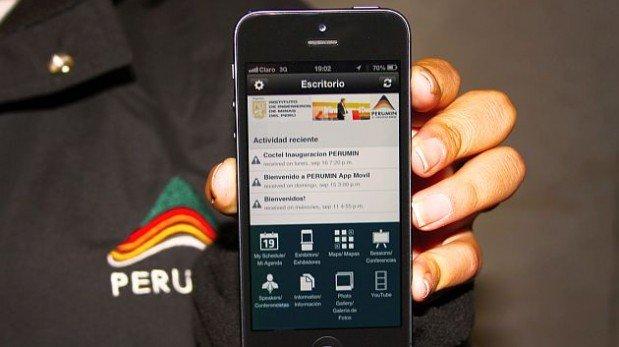 Perumin App, la aplicación que todos los asistentes al evento deben tener