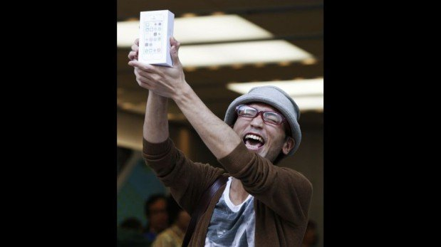 iPhone 5S y iPhone 5C ya están a la venta en tiendas de Japón, Reino Unido y Estados Unidos [FOTOS]
