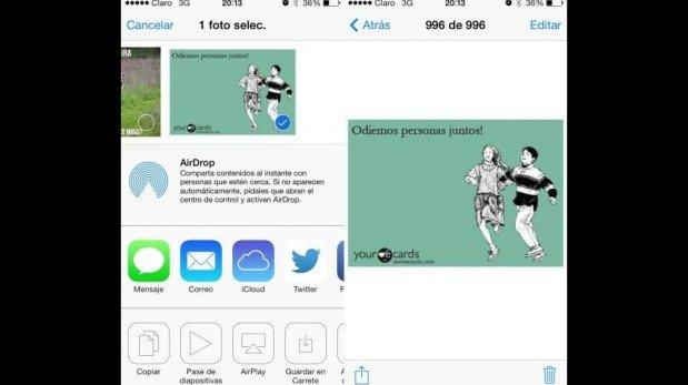¿Ya descargaste el iOS 7 de Apple? Aquí un vistazo a sus nuevas funciones y diseño [FOTOS]