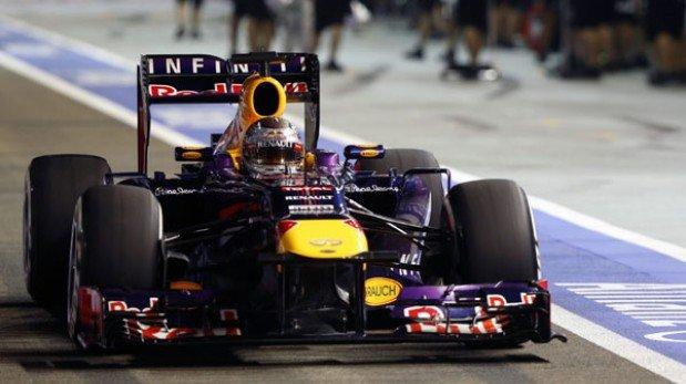 Fórmula 1: Vettel ganó el Gran Premio de Singapur y Alonso quedó segundo
