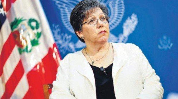 """Embajadora de EE.UU.: """"No es secreto que la corrupción es un problema en el Perú"""""""