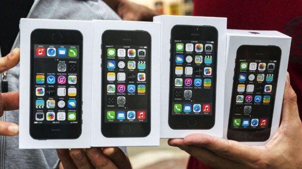 Se acabaron los iPhone 5S... hasta octubre