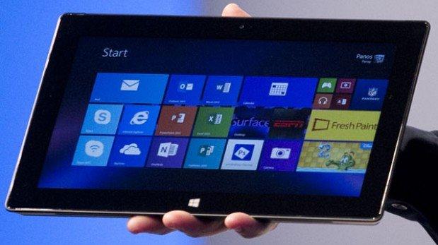 Microsoft presentó sus nuevas tablet Surface