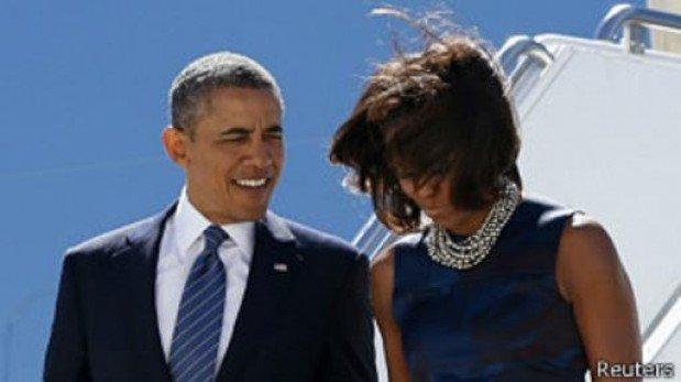 Obama confiesa que lleva años sin fumar por miedo a su esposa Michelle