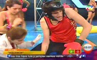 """Hijo de Ricky Tosso se dislocó el hombro durante juego de """"Combate"""" [VIDEO]"""