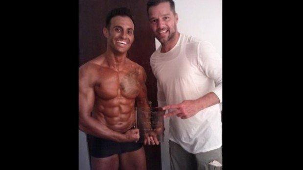 Hermano fisicoculturista de Ricky Martin se coronó Mister Puerto Rico