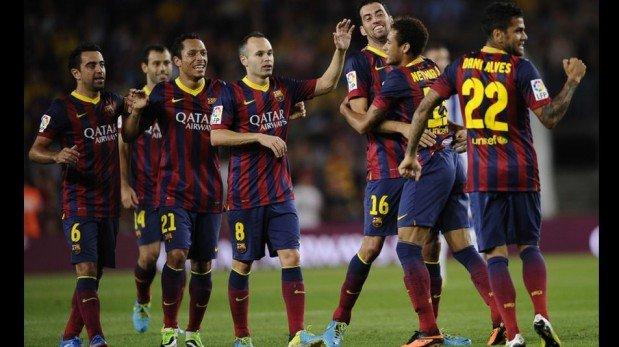 Neymar, su primer gol en la Liga y la goleada del Barcelona a la Real Sociedad [FOTOS]