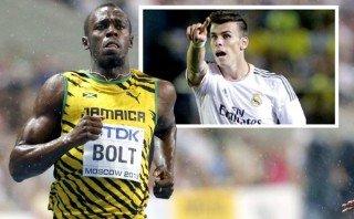 Usain Bolt asegura que puede hacer de Gareth Bale un mejor futbolista