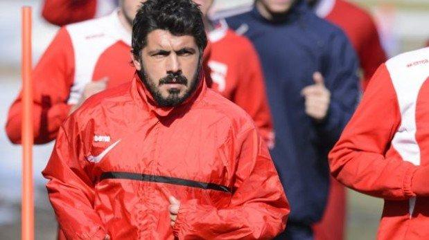Gatusso duró apenas tres meses como técnico del Palermo