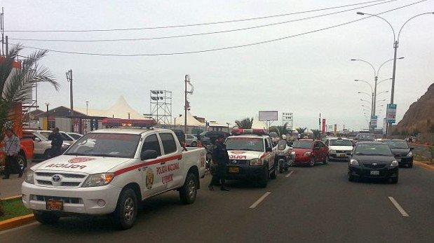 ¿En qué distritos de Lima se impuso el mayor número de fotopapeletas por exceso de velocidad?
