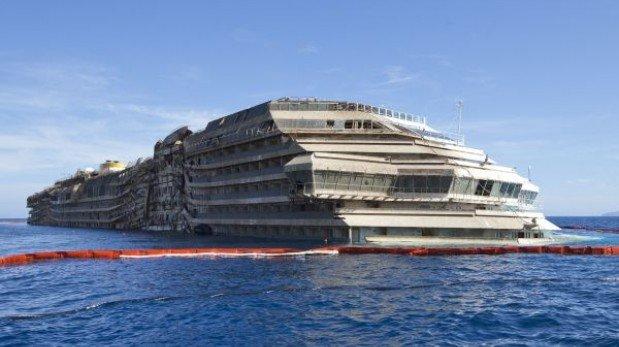 Restos humanos fueron hallados cerca del Costa Concordia