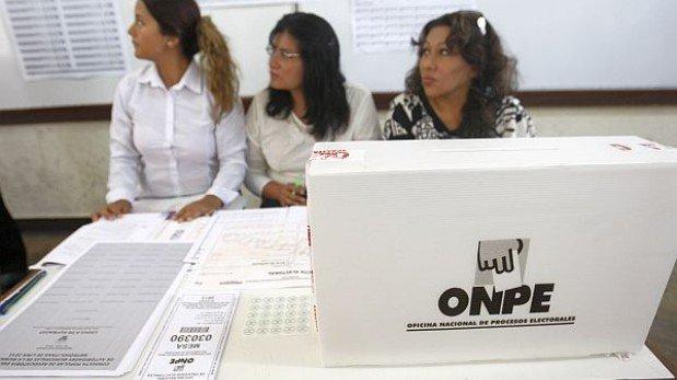 MINUTO A MINUTO: limeños acuden a urnas para elegir a 22 regidores