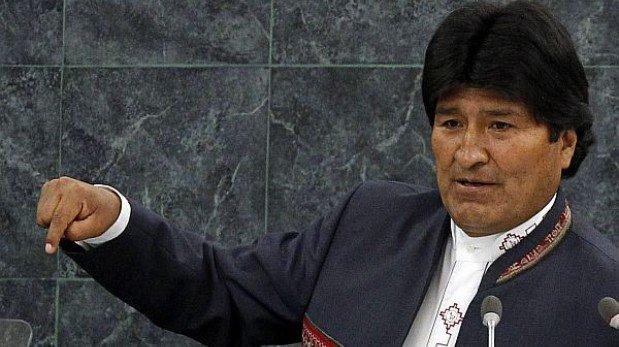 Evo Morales amenazó con nacionalizar telefónicas de Suecia y EE.UU.