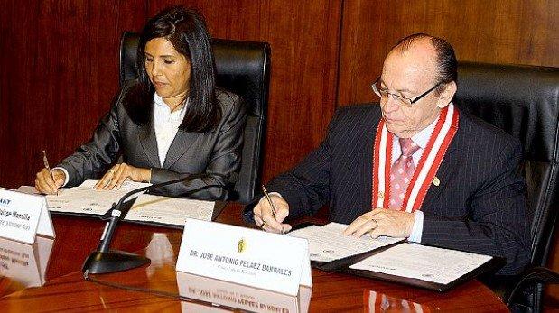 Sunat transferirá S/.2,4 mlls al Ministerio Público para lucha contra las drogas