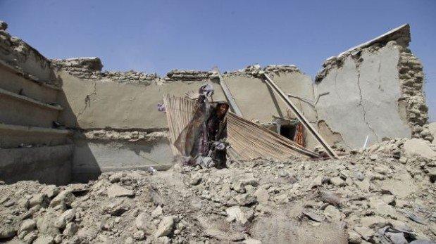 Pakistán fue sacudido por otro terremoto que también ha dejado muertos