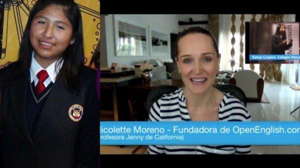 La impresionante historia de la estudiante peruana que conmovió a Open English