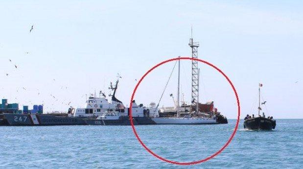Autoridades judiciales reciben hoy velero Karisma en el Callao