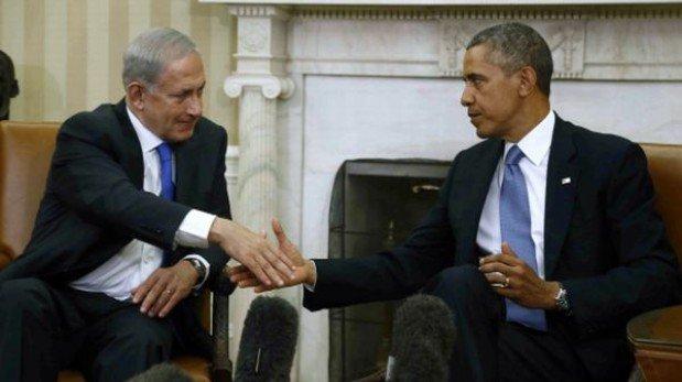 Netanyahu pide mantener sanciones a Irán y Obama dice que palabras no bastan