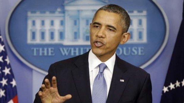 """Obama sobre cierre del gobierno: """"Tendrá impacto económico fuerte en la gente"""""""