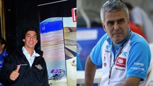 Alonso y Pardo: el más joven y el más veterano del Dakar Series