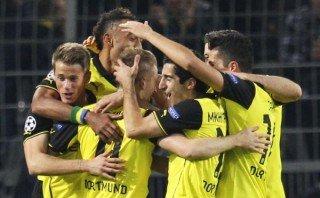 Dortmund goleó 3-0 al Olympique Marsella y pisa fuerte en Champions