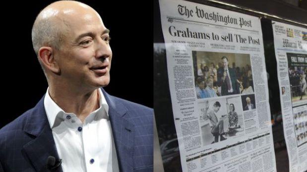 """Jeff Bezos ya es oficialmente dueño de """"The Washington Post"""""""
