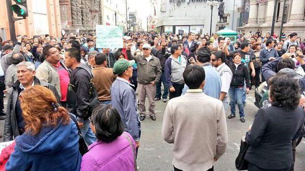 Trabajadores del Minsa radicalizarán su protesta si hoy no atienden sus reclamos