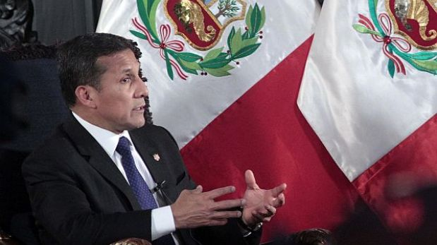 """Gobierno """"no es el ángel de la guarda"""" de Toledo, sostuvo Ollanta Humala"""