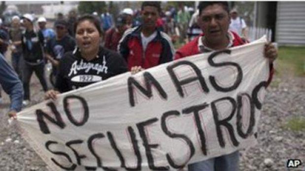 México es el país de los más de 100.000 secuestros al año