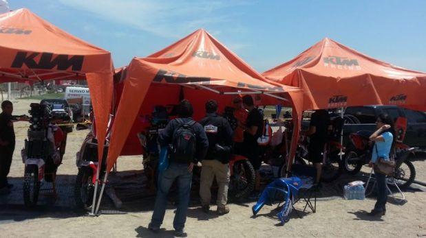 Dakar Series se puso en marcha con las revisiones técnicas en Paracas [FOTOS]